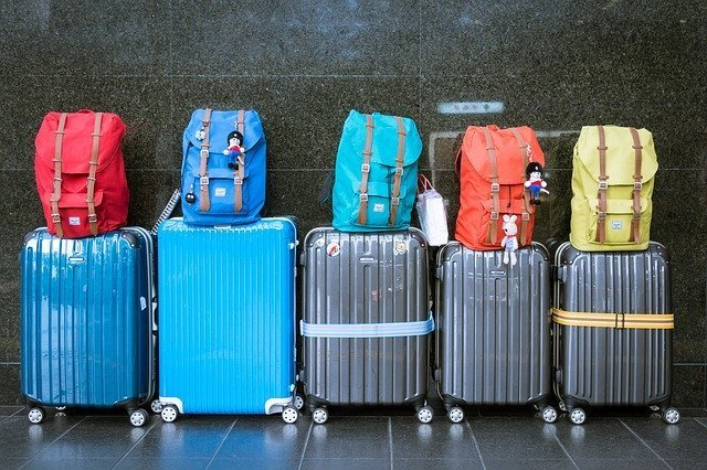 luggages and checked baggage